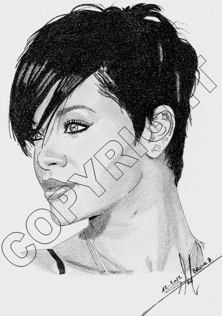 Rihanna by Toon24